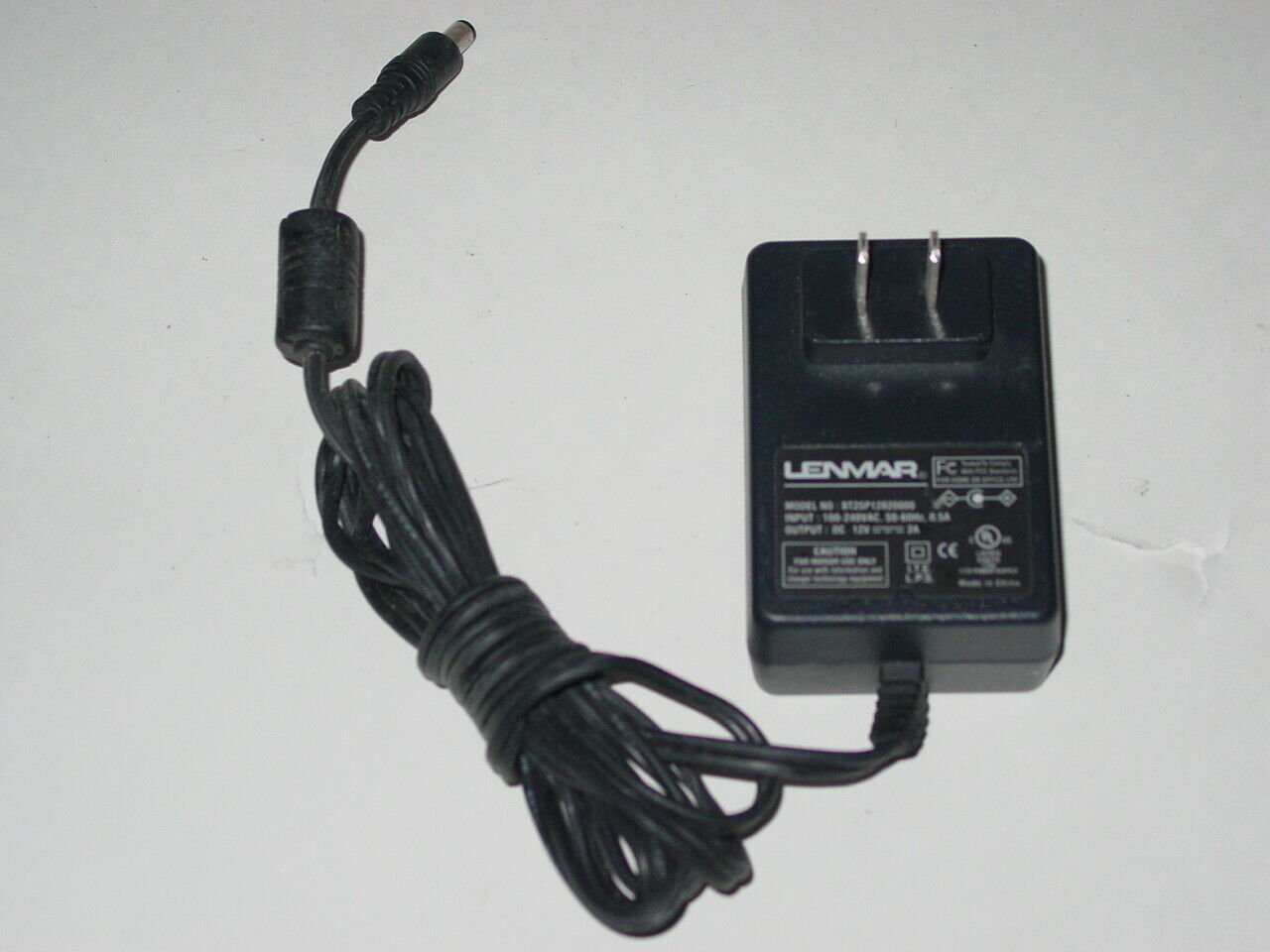 Lenmar BT25P12020000 AC Power Adapter 12V 2A