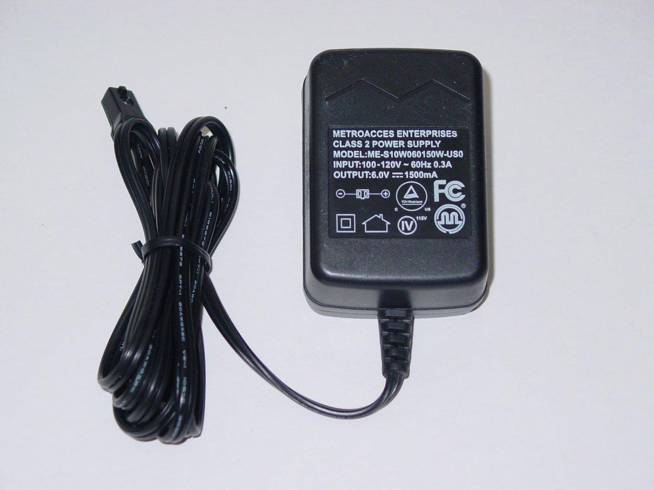 Metroacces Enterprises ME-S10W060150W-US0 AC Power Adapter 6V 1500mA