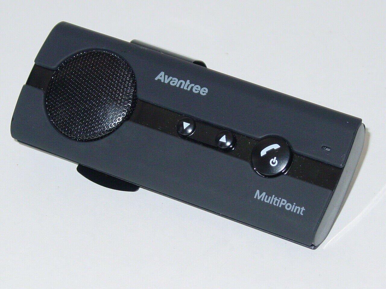 Avantree 10BP Handsfree Bluetooth for Car Multipoint Speakerphone BTCK-10BP
