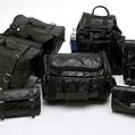 Buffalo Leather 7pc Motorcycle saddlebags and bag set