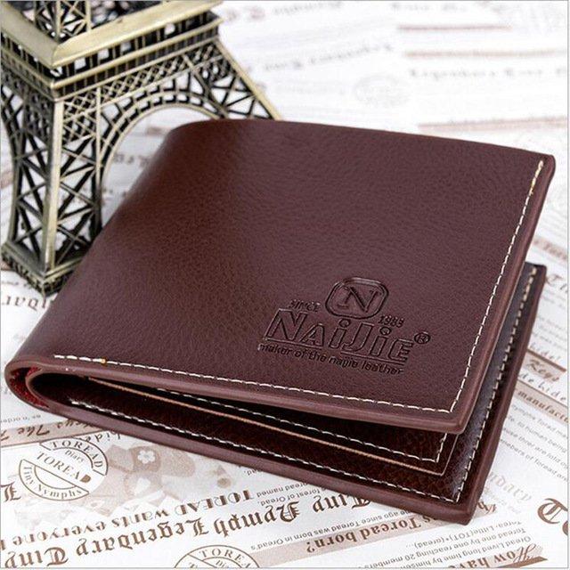Men's Brown Genuine Leather Wallets
