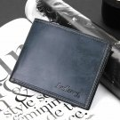 Men's Gray PU Leather Wallet