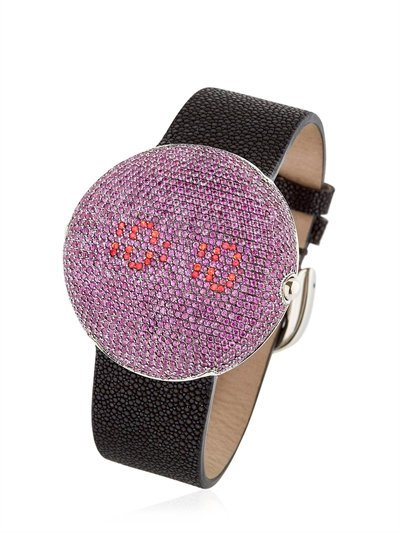 CHRISTIAN KOBAN CLOU DINNER WATCH WITH PINK SAPPHIRES