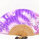 Chinese wind fan, Pure silk satin women's silk fan X 60 fans