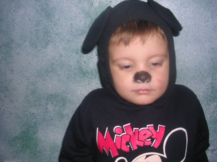 BOYS MICKEY MOUSE COSTUME