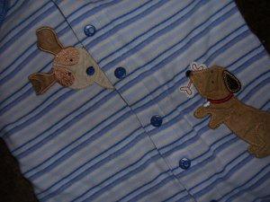 CARTER'S BOY'S SLEEPER