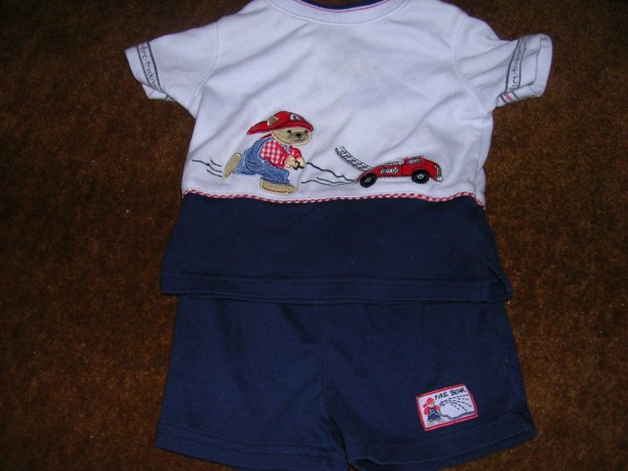 SESAME STREET 3-6 MOS OUTFIT