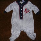BOYS BASEBALL SLEEPER 3-6 MOS