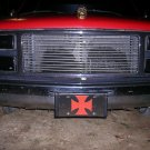 CHOPPER LICENSE PLATE STAINLESS STEEL
