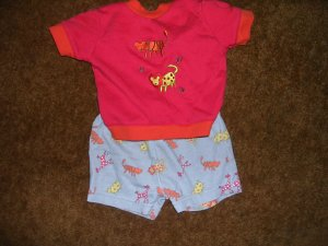 0-3 MOS BOYS 2PC OUTFIT