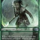 Magic the Gathering Game Day Promo Reclamation Sage Creature Green Mint Free Shipping