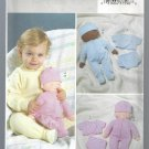 "Butterick Pattern B4090: 14"" Baby Doll & Clothes, Free Shipping"