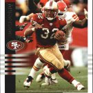 Kevan Barlow Score 233 San Francisco Mint Football Card Free Shipping
