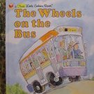 Wheels on the Bus Little Golden Books  Free Shipping