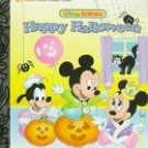 Disney Babies Happy Halloween Little Golden Books  Free Shipping