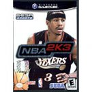 NBA 2K3 Gamecube Game Only Free Shipping
