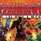MAXIMUM THROWDOWN Game Free Shipping