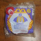 New Sealed McDonald's Grimace Figurine Happy Meal Toy Free Shipping