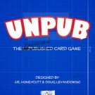 UNPUB The Unpublished (Published) Card Game Free Shipping