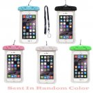 Universal 6 inch Waterproof Phone Case Anti-Water Pouch Dry Bag Cover for iPhone