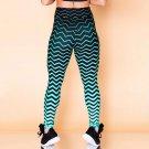 2019 New Women Lift Butts Fitness Leggings Digital Print Body Mechanics Wear