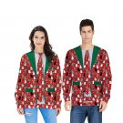 Suit Printed Hoodies Fashion Xmas Street Wear Unisex Christmas Sweatshirt