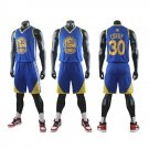 Stephen Curry Basketball Tracksuit T-shirts Golden State Warriors Team Uniform Klay Thompson Tops