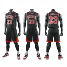 Teen Basketball Training Suit Kid Michael Jordan Chicago Tops Pippen Adult Team Uniforms