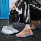 Gradient Casual Shoes Male Breathable Summer Footwear USA Men Mesh Fashion Leisure Outfits