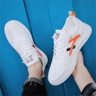 Men PU Summer Skater Shoes Rugged Back To School Teens Casual Plimsolls Fashion Board Shoes