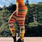 Women Animal Printing Exercise Pants Digital Print Body Mechanics Clothing High Waist Gym Leggings