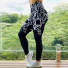 High Waist Athletic Wear Lady Ourdoor Exercise Apparel Floral Fitness Pants Sexy Yoga Leggings