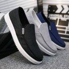 Men Canvas Loafers Low Cut Casual Shoes Male Fashion Old Peking Shoes Summer Denim Footwear