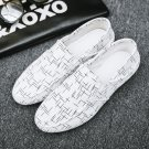 Spring Canvas Pea Shoes Men Denim Casual Shoes Fashion Street Outfits Fall Slip-On Footwear