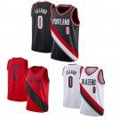 Adult Damian Lillard Kits Portland Basketball Outfits Trail Blazers Basketball Team Uniform