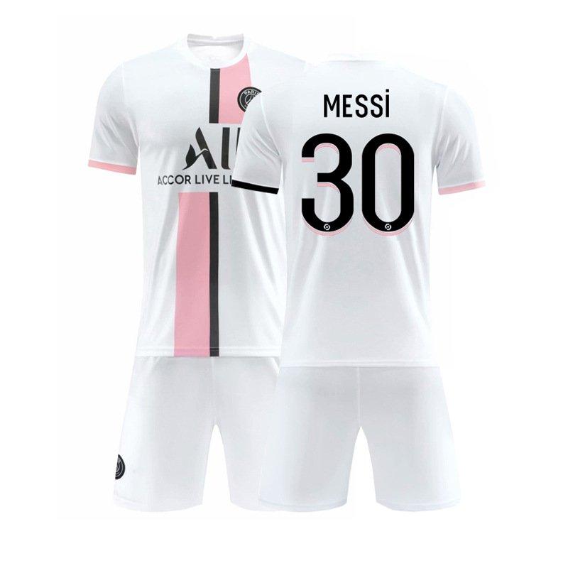 Adult Messi Soccer Uniforms Paris Saint-Germain F.C PSG Football Tops