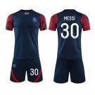 Adult Messi Football Uniforms Paris Saint-Germain F.C Home Soccer Tops