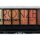 Technic Bronze Eye shadows 6 Colours