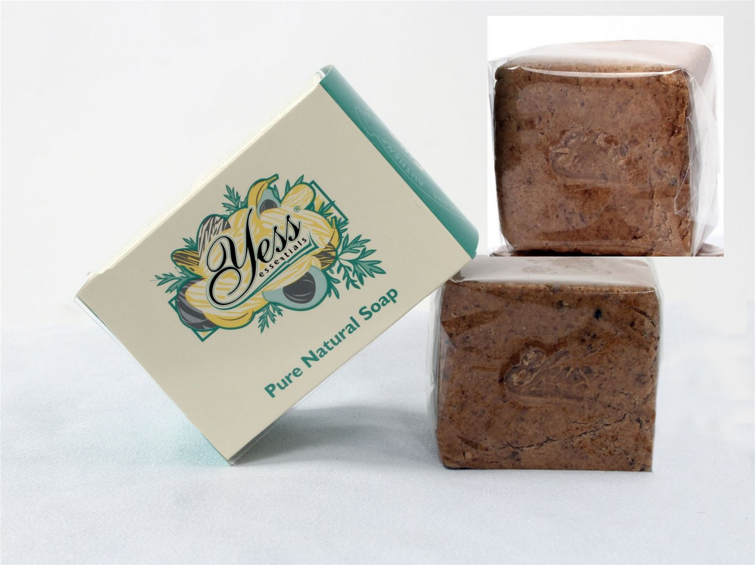 Yess Essentials African Black Soap with Shea Butter 200g