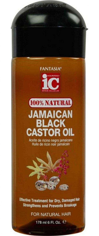 Natural Hair Oil Scalp With Black Castor Oil C