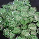 3 Pound a Granel Green Tumbled Stones 1/2 (FREE SHIPPING)