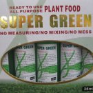 All Purpose Super Green Plant Food - 36ml x 10 Per Box (FREE SHIPPING)