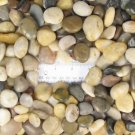Natural Polished Mixed Color Stones Small, total weight approximately 5 pounds,