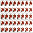 """50 Animal ( Muppets ) Envelope Seals / Labels / Stickers, 1"""" by 1.5"""""""