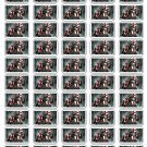 "50 Captain America Civil War Envelope Seals / Labels / Stickers, 1"" by 1.5"""