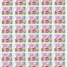 "50 Candy Land Envelope Seals / Labels / Stickers, 1"" by 1.5"""