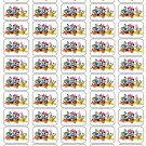 "50 Mickey and Disney Friends Envelope Seals / Labels / Stickers, 1"" by 1.5"""