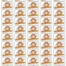 "50 Curious George Envelope Seals / Labels / Stickers, 1"" by 1.5"""