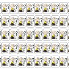 "50 Charlie Brown Snoopy Hug Envelope Seals / Labels / Stickers, 1"" by 1.5"""