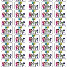 "50 Teen Titans Go! Envelope Seals / Labels / Stickers, 1"" by 1.5"""